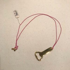kate spade bottle opener necklace